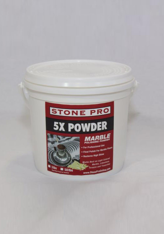 Marble Polishing Powder Stone Pro 5x Powder 3 Pound